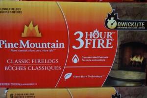 Pine Mountain 3 Hour Fire Logs