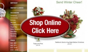 SHOP ONLINE FLOWERS